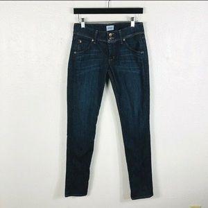 Hudson Collin flap skinny jeans 27
